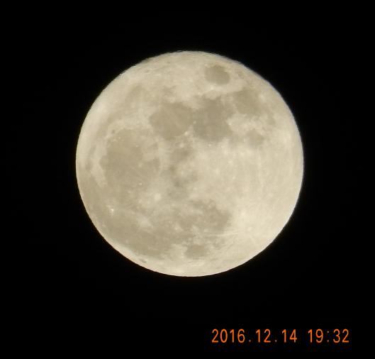 今年最後の満月と・・・