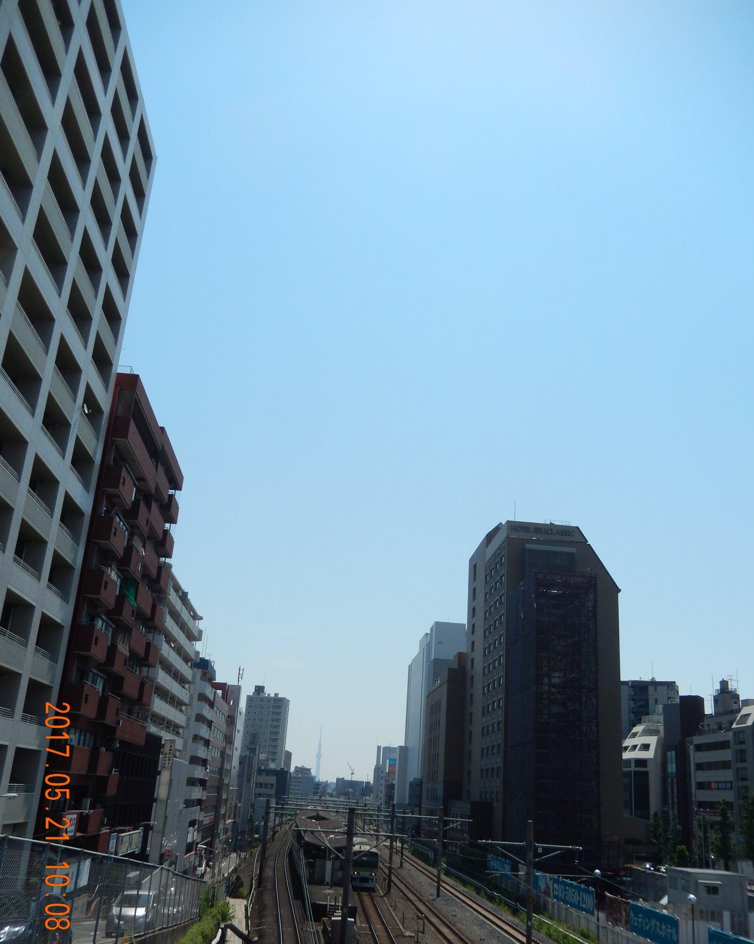 今日もいいお天気