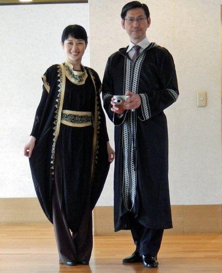 民族衣装のお土産